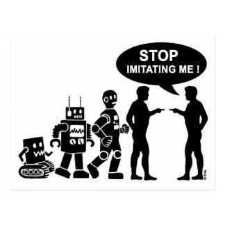 Carte Postale Évolution de robot