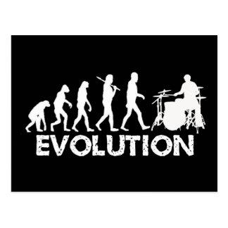 Carte Postale Évolution d'un batteur