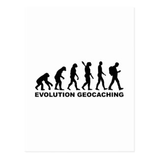 Carte Postale Évolution Geocaching