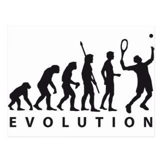 Carte Postale évolution tennis