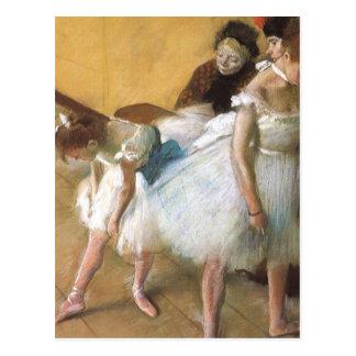 Carte Postale Examen de danse par Edgar Degas, ballet vintage