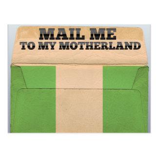 Carte Postale Expédiez-moi au Nigéria
