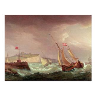 Carte Postale Expédition outre de Douvres