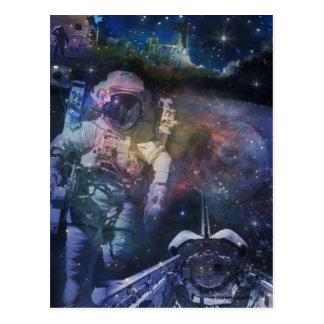 Carte Postale Explorez la beauté de l'espace