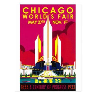 Carte Postale Exposition universelle 1933 de Chicago