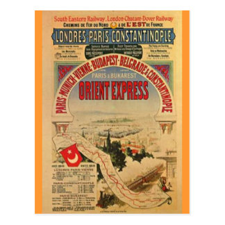 Carte Postale Express d'orient