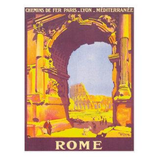 Carte Postale Express vintage de Rome