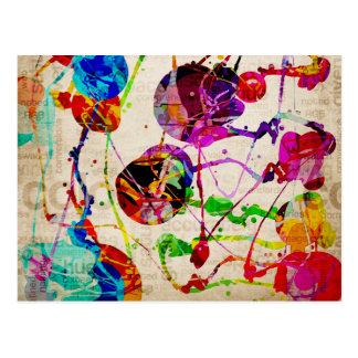 Carte Postale Expressionisme abstrait 2