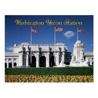 Carte Postale Extérieur de station des syndicats, Washington,