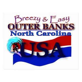 Carte postale externe de banques