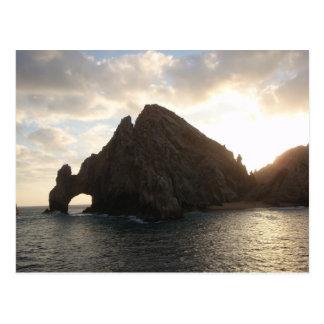 Carte Postale Extrémité Cabo San Lucas de terres