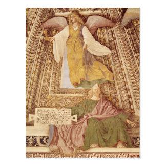 Carte Postale Ezekiel et ange tenant le calice de