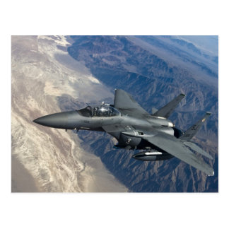 Carte Postale F-15 grève Eagle