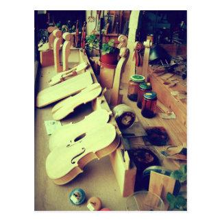 Carte Postale Fabricants de violon de Mittenwald