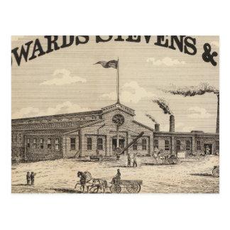 Carte Postale Fabricants d'Edwards Stevens et de Co dans