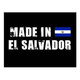 Carte Postale Fabriqué au Salvador