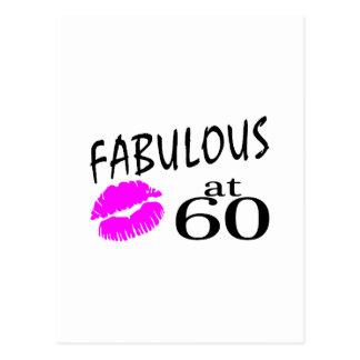 Carte Postale Fabuleux à 60