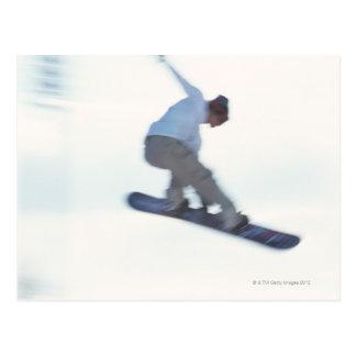 Carte Postale Faire du surf des neiges 11