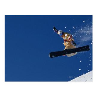 Carte Postale Faire du surf des neiges 14
