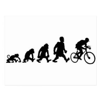 Carte Postale faire du vélo