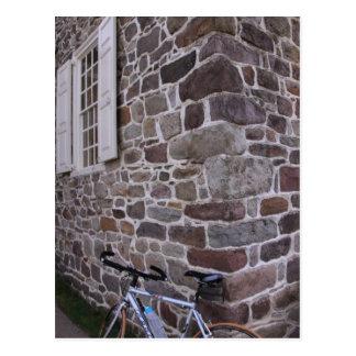 Carte Postale Faire du vélo en parc national de forge de vallée