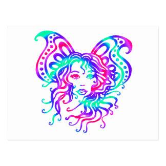 Carte Postale Fairy-4 mystique
