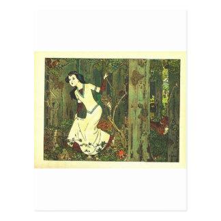 Carte Postale Fairytalesque - Snowwhite