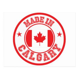Carte Postale Fait à Calgary