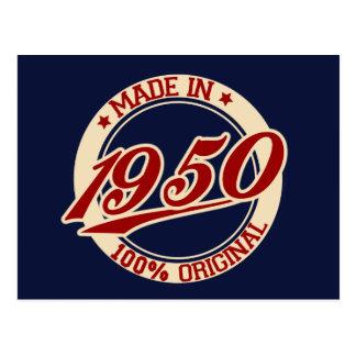 Carte Postale Fait en 1950