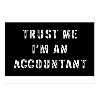 Carte Postale Faites confiance que je je suis un comptable
