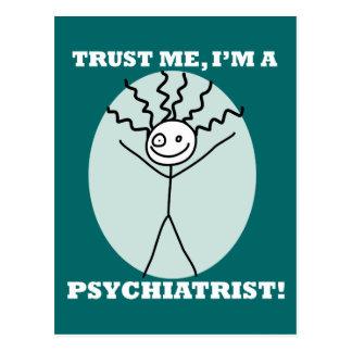 Carte Postale Faites confiance que je je suis un psychiatre