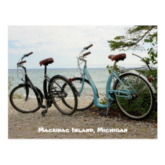 Carte Postale Faites du vélo l'île - île de Mackinac, Michigan