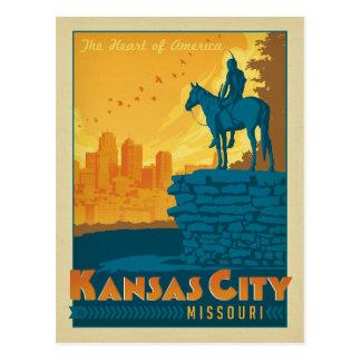 Carte Postale Faites gagner la date | Kansas City, MOIS