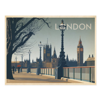 Carte Postale Faites gagner la date | Londres