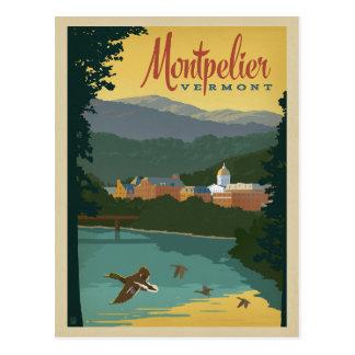 Carte Postale Faites gagner la date - Montpellier, VT