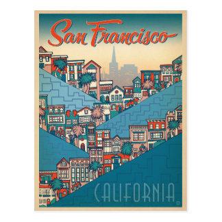 Carte Postale Faites gagner la date   San Francisco, CA
