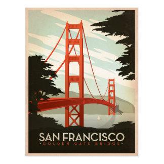 Carte Postale Faites gagner la date   San Francisco, CA - le
