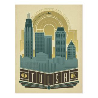 Carte Postale Faites gagner la date | Tulsa, OK
