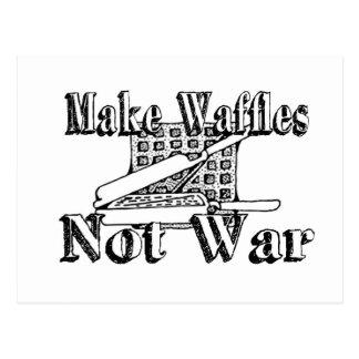 Carte Postale FAITES les GAUFRES, pas guerre