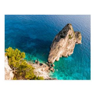 Carte Postale Falaise de la mer Méditerranée