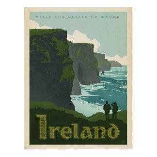 Carte Postale Falaises de Moher | Irlande