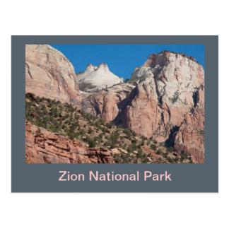 Carte Postale Falaises de parc national de Zion