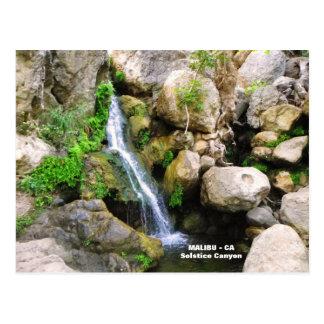 Carte postale fantastique de Malibu !