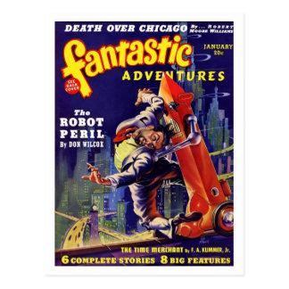 Carte postale fantastique des aventures #9