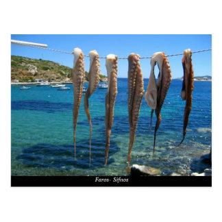 Carte Postale Faros- Sifnos
