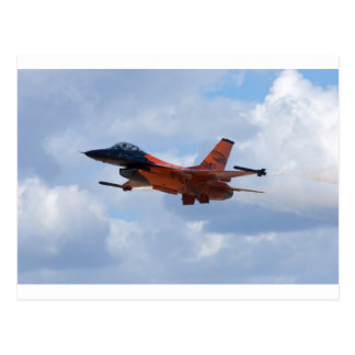 Carte Postale Faucon F-16 de combat