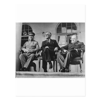 Carte Postale fdr_churchill_stalin_2