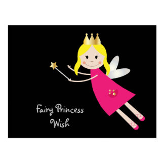 Carte postale féerique de princesse Wish