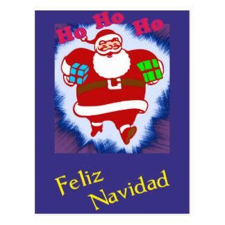 Carte Postale Feliz Navidad Papá Noel