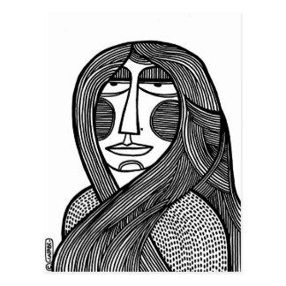 Carte Postale Femme /01
